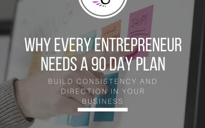 Why you need a 90 Day Plan in your Business.